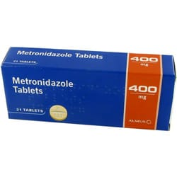 Metronidazole - Hard Box Contains 3 Blister Pack, Blister Pack Contains 7 Tablets Each