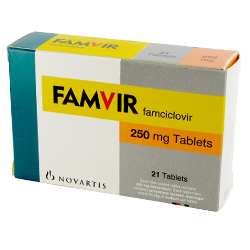 Famvir blister pack