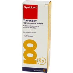 Symbicort Turbuhaler (100/6 inhalation powder)